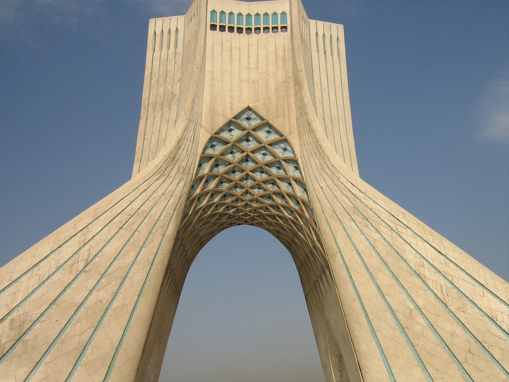 FREEDOM MONUMENT IN TEHRAN, IRAN - a photo on Flickriver